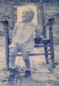 Bobby Pennington age two in 1933.