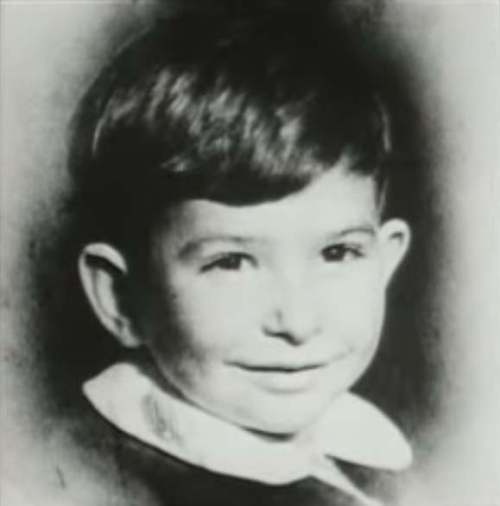 Noam Chomsky as a child